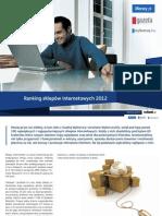 Ranking Sklepow 2012