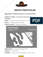 Reglamento Campeonato Powerkart Kartpetania