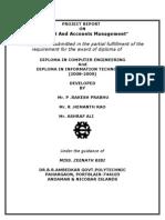 BUDGET & ACCOUNT MANAGEMENT SYSTEM