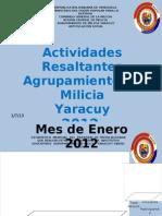 ESTADISTICAS DE AÑO 2012 ARTICULACION SOCIAL