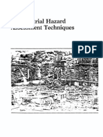 Manual of Industrial Hazard Assessment Techniques
