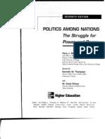 87-Morgenthau.politics Among Nations