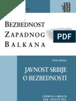 Javnost Srbije o bezbednosti