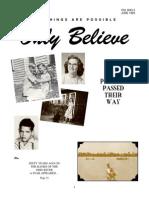 Testimonies -Only Believe Magazine