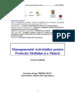 Manag Act Pt Prot Med