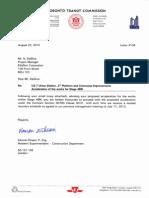 Transit Letter