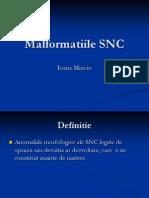 MALFORMATII SNC COPII