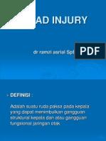 Head Injury Tutorial