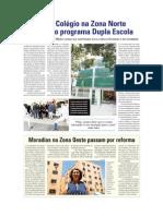 D.O - Moradias da zona Oeste passam por reformas