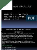 P. Point Ibadah Shalat