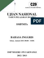 Soal UN 2011 C29