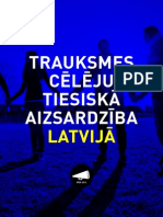 Trauksmes Cēlēju Tiesiskā Aizsardzība Latvijā-Delna