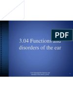 3 04 functions and disorders of the ear