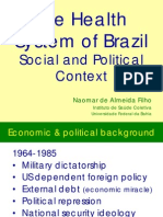 The Health System of Brazil