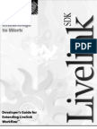 Developer s Guide for Extending Livelink Workflow