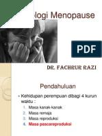 Fisiologi Menopause