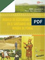 Brochure Proyecto Modelo de Ecoturismo