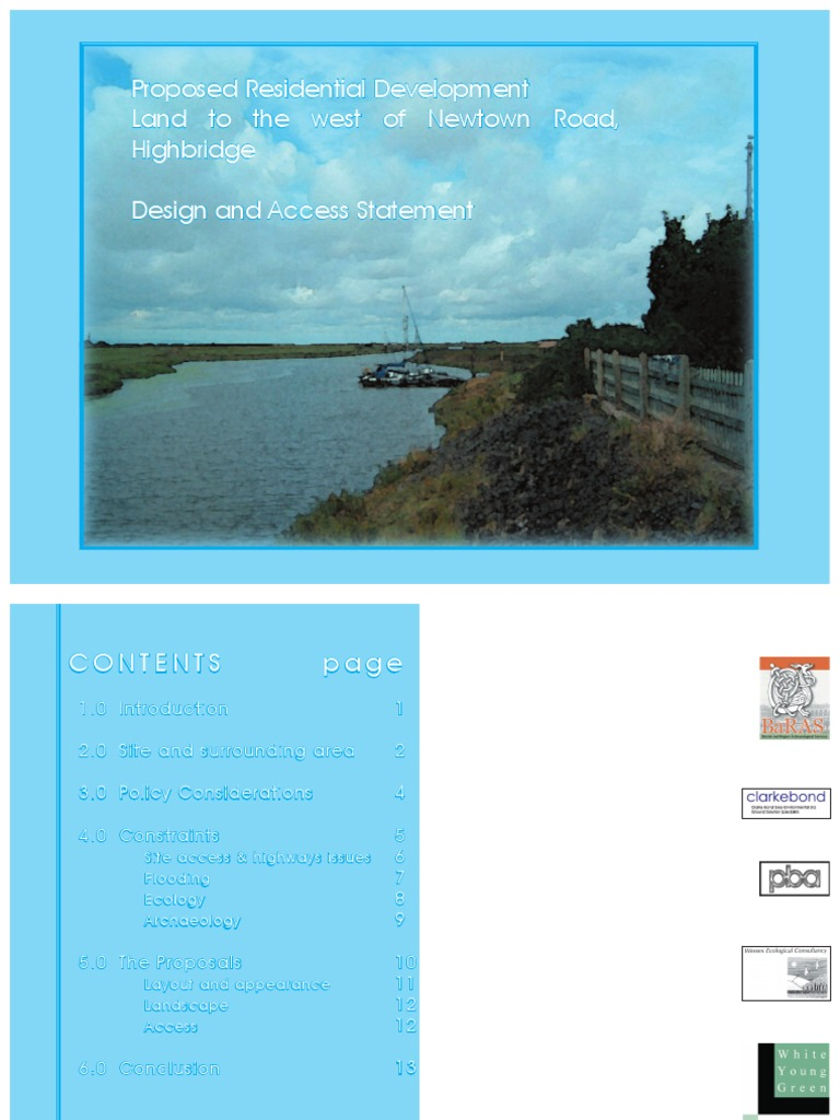 010 158 42126 Design and Access Statement Cycling Infrastructure