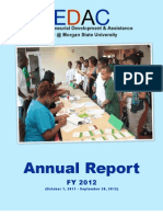 EDAC FY 2012 Annual Report