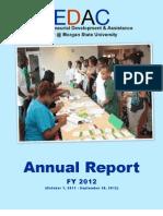 EDAC FY 2012 Annual Report