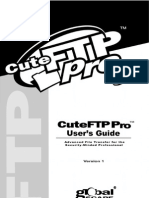 cute ftp manual