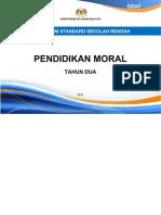 Dokumen Standard Pendidikan Moral SK Tahun 2