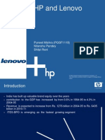 hP and Lenovo (Last Group)