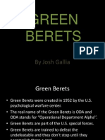 Green Beret Powerpoint