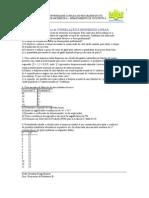 Lista2 Exercicios de Correlacao Regressao Linear