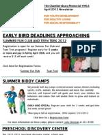 April 2012 eNewsletter