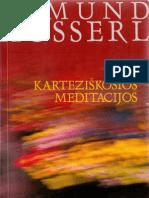 Husserl. Kartezietiškosios meditacijos