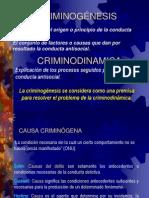 CRIMINOGÉNESIS