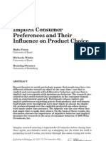 consumer preference implicit