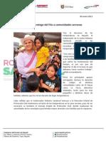04-01-13 Boletin Roberto protege del frío a comunidades serranas