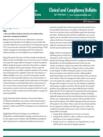 Evergreen Rehabilitation Contract Therapy - Clinical & Compliance Bulletin 2013 Q1