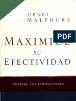 Aubrey Malphurs Maximice Su Efectividad