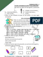SIGNOS DE PUNTUACIÓN - 3
