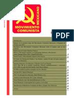 Boletín del Movimiento Comunista Mexicano