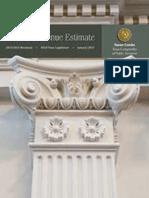 Texas Biennial Revenue Estimate 2014-2015