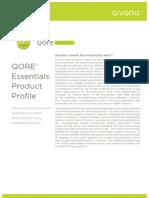 Qivana QORE Essentials Profile
