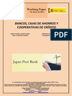 BANCOS, CAJAS DE AHORROS Y COOPERATIVAS DE CRÉDITO (Es) PRIVATE BANKS, SAVINGS BANKS AND CO-OPERATIVE BANKS (Es) BANKUAK, AURREZKI KUTXAK ETA KREDITU KOOPERATIBAK (Es)