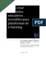 creación de materiales para e-learning