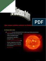 Texto de Apoio nº 2 - Astros do Sistema Solar e o Planeta Terra