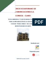 Ficha Ambiental EBC Pueblo Unido
