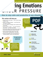Managing Emotions Under Pressure