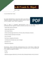 L'Opera Di Frank G. Ripel