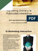 Marketing Online y La Publicidad Interactiva