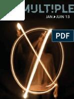 Programme n°8 du Lieu Multiple de janvier à juin 2013