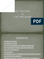 Cnc Machine and Program Progecr