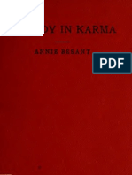 A Study in Karma_Annie Besant